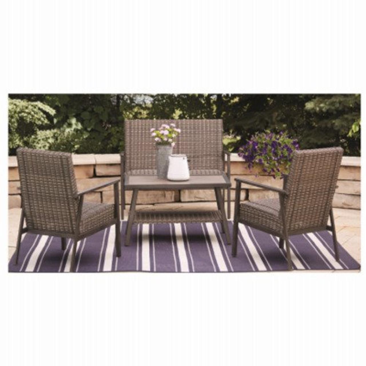 nantucket 4 piece outdoor patio seating set
