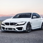F1 Style Front Bumper Accent Vinyl Inlay Bmw M3 F80 2014 2018 Premium Auto Styling