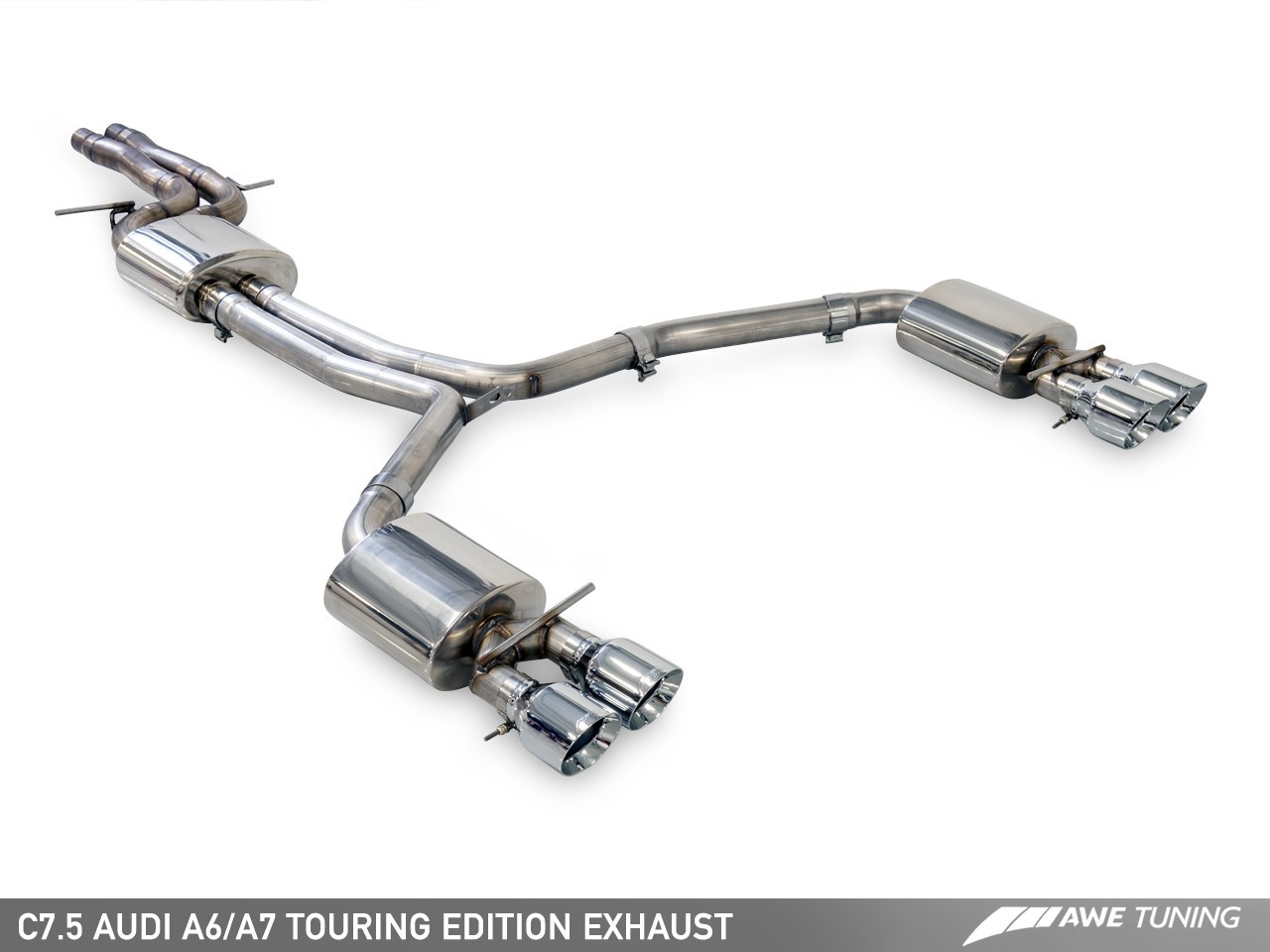 awe tuning audi a7 c7 5 3 0tfsi touring edition exhaust system