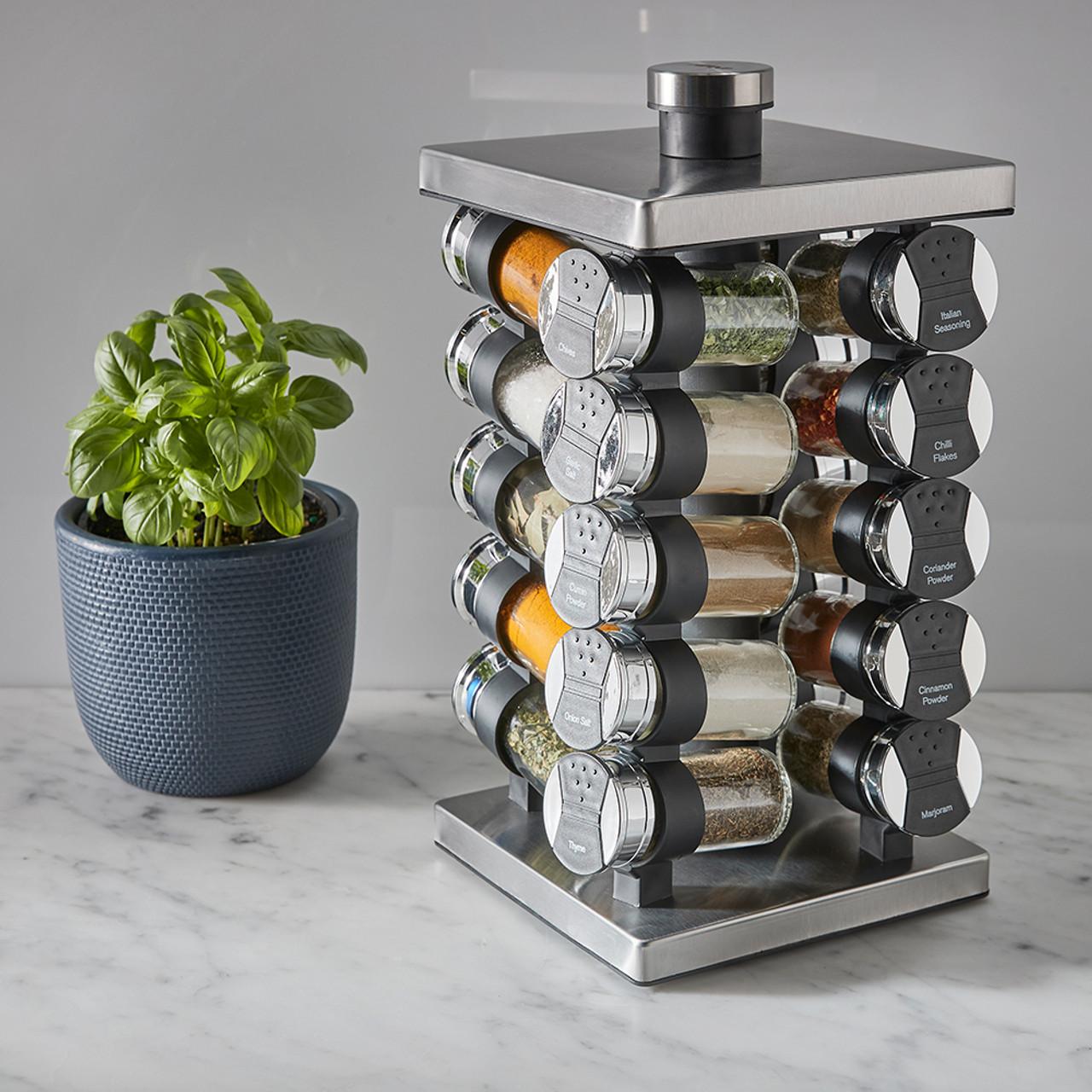 https www hsw com au avanti 20 jar revolving spice rack with spices