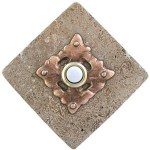 Clavos Doorbell Button On Stone 360 Yardware