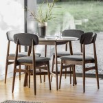 Bergen Round Marble Dining Table Scandinavian Furniture Maison Living
