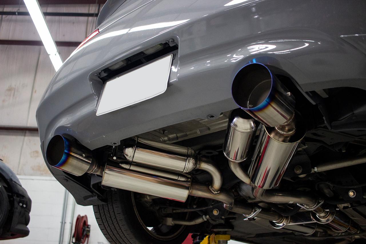 hks dual hi power ti exhaust infiniti g37