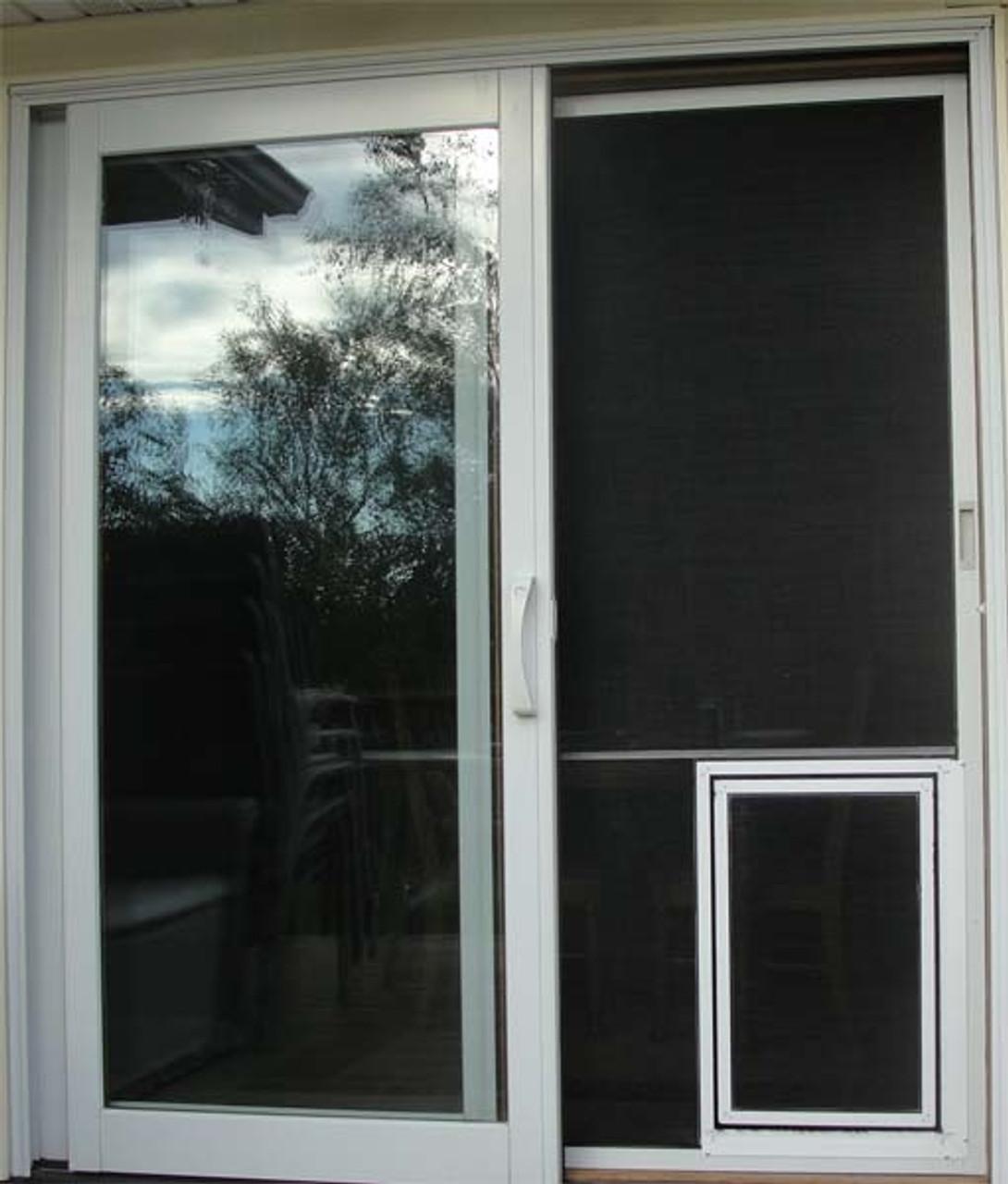screen pet door for sliding screens
