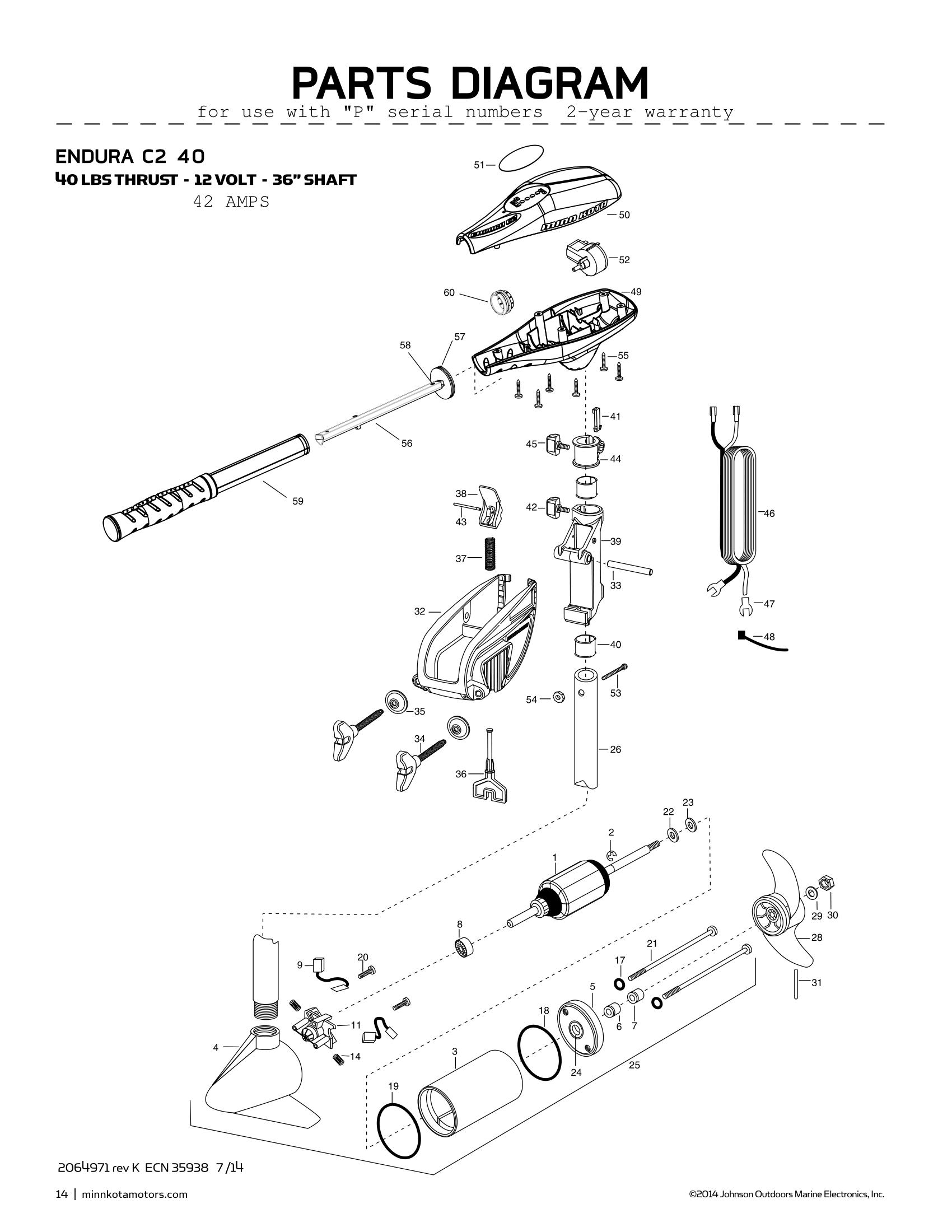 Minn Kota 65 Wiring Diagram