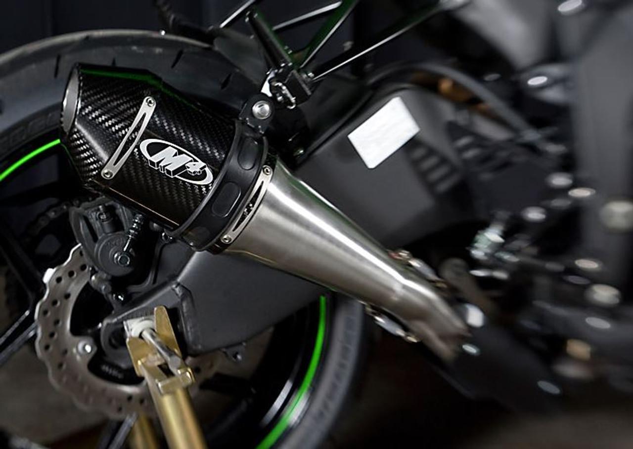 m4 full system exhaust kawasaki zx6r ka6974