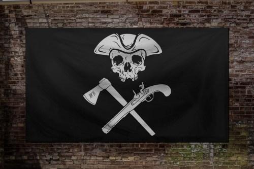 Jolly Roger Black Flag - moeguns.com