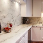How To Quick Install A Custom Faux Stone Backsplash Counter Top Epoxy