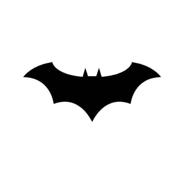 Batman Emblem 26 Vinyl Sticker
