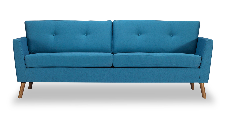 Articulate Modern 82 Fabric Sofa Urban Surf