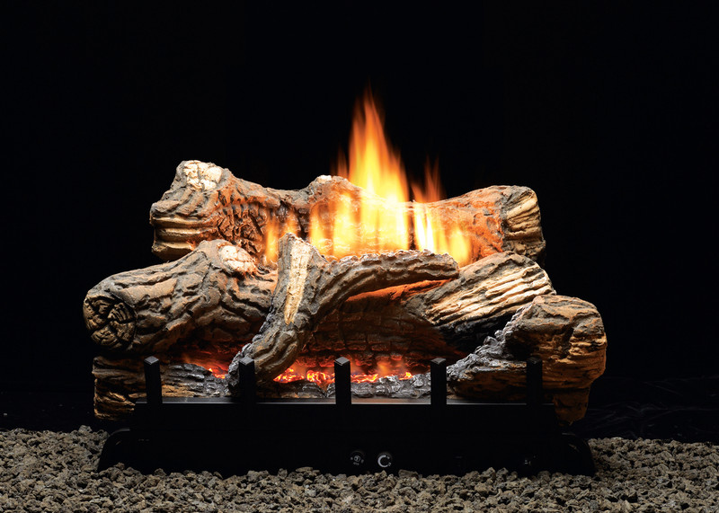 "White Mountain Hearth VFDR18LBN 18"" Flint Hill Log Set"