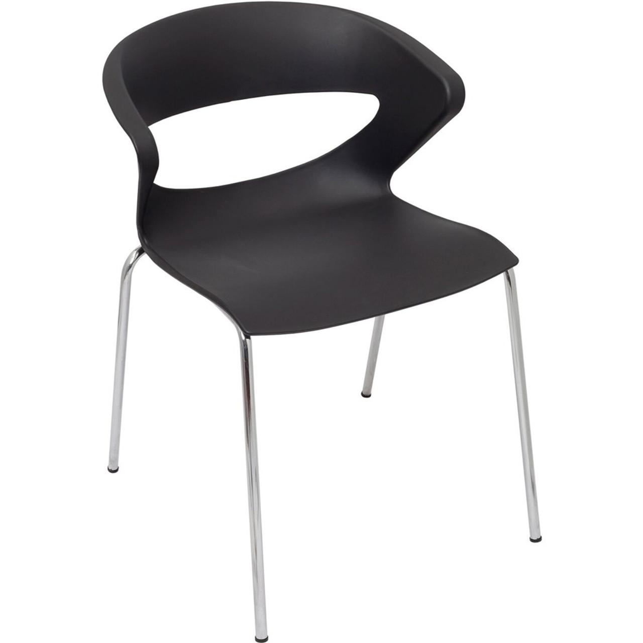 Rapidline Taurus Chair Hospitality Stacking Chairs Black