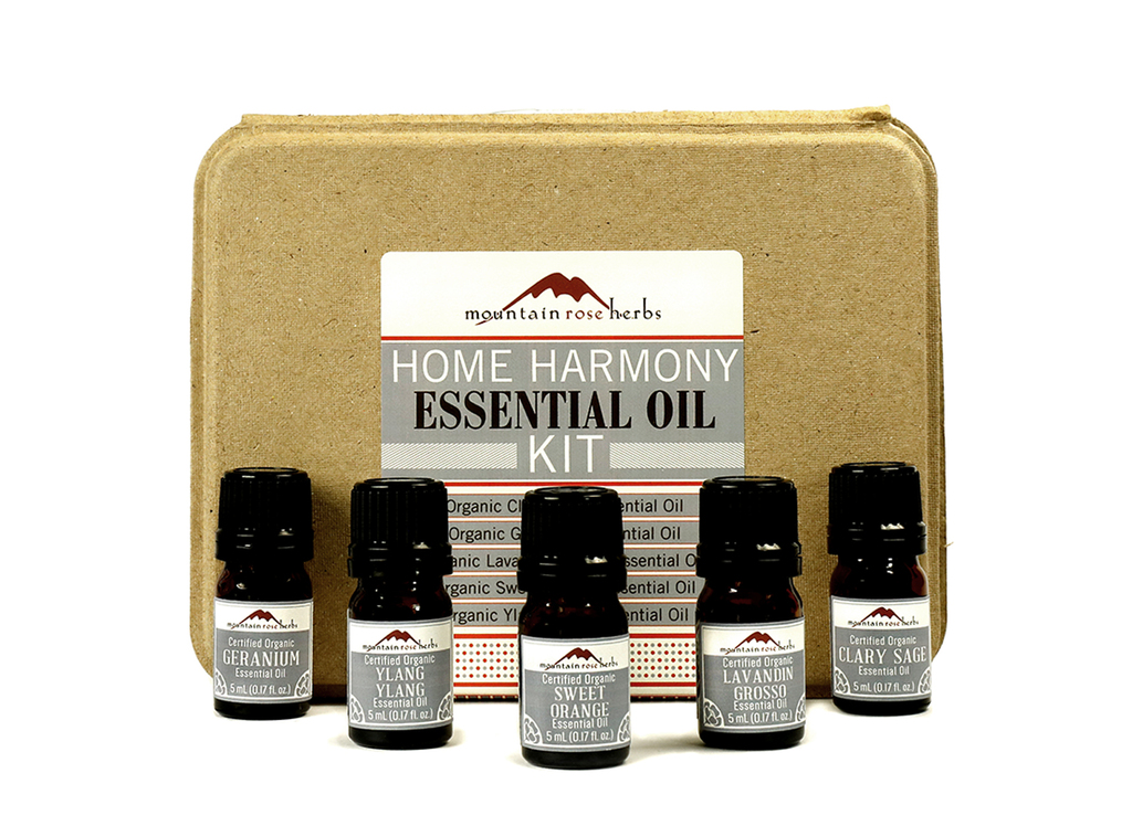 Home Harmony Organic Essential Oils Kit