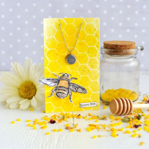 You're The Bee's Knees— Mother's Day Tag & Charm Project