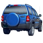 2002 2007 Jeep Liberty Color Matched Rigid Tire Cover By Boomerang