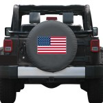 American Flag Colortek Tire Covers By Boomerang Many Sizes To Custom Fit Your Vehicle