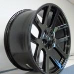 22 Fit S Dodge Ram 1500 Srt 10 Ram Laramie Hemi Dakota Durango Wheels Gloss Black Set Of 4 22x10 Rims Stock Wheel Solutions