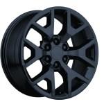 20 2014 Gmc Sierra Chevy 1500 Wheels Gloss Black Set Of 4 20x9 Rims Stock Wheel Solutions