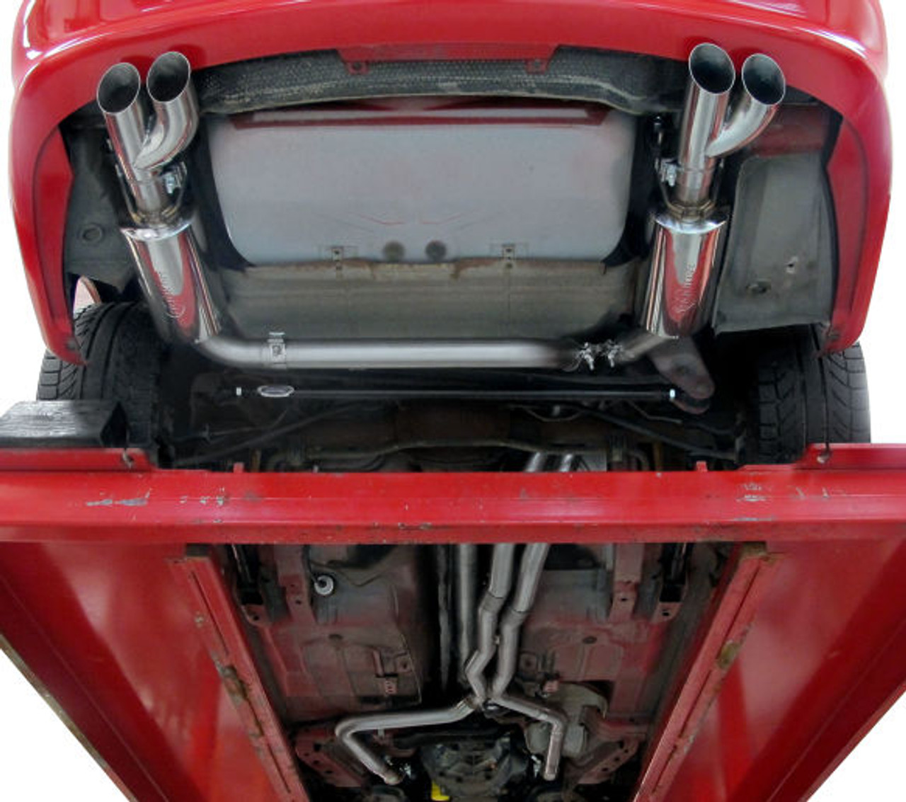 hooker blackheart true dual exhaust kit 5 7l v8 ls engine equipped models 409 stainless steel