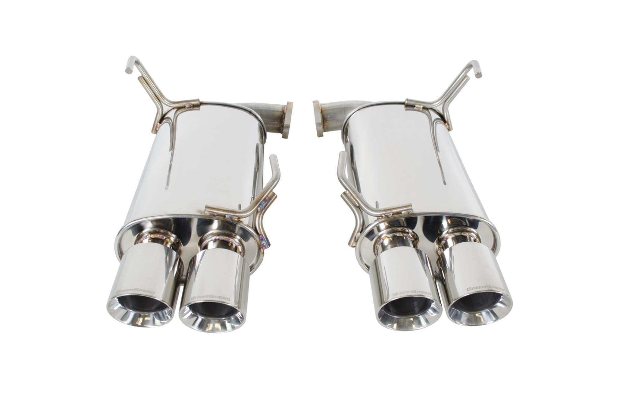 catback exhaust system resonated 11 20 wrx sti sedan