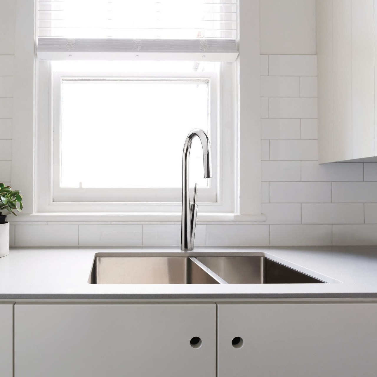 riobel solstice kitchen faucet with spray chrome