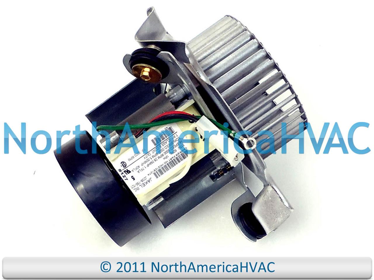furnace exhaust draft inducer motor fits carrier bryant payne jakel j238 150 15217 furnace exhuast