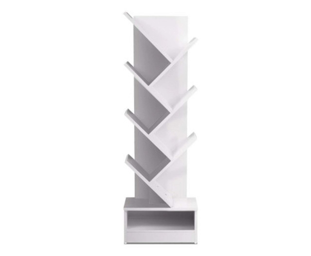 https www urbanhyve com au henry display 7 tier white tree bookshelf book rack bookcase