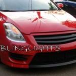 2010 2011 2012 Nissan Altima Led Drl Light Strips For Headlamps Headlights Head Lamps Strip Lights Blinglights Com