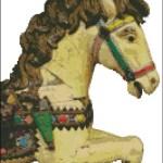 Carousel Horse 2 Pinoystitch