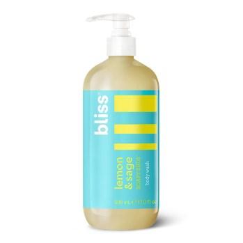 Lemon & Sage Soapy Suds Foaming Body Wash   Bliss