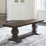The Hillcott Dark Brown Extra Large Dining Room Bench Available At Furniture Connection Serving Clarksville Tennessee And Ft Campbell Kentucky