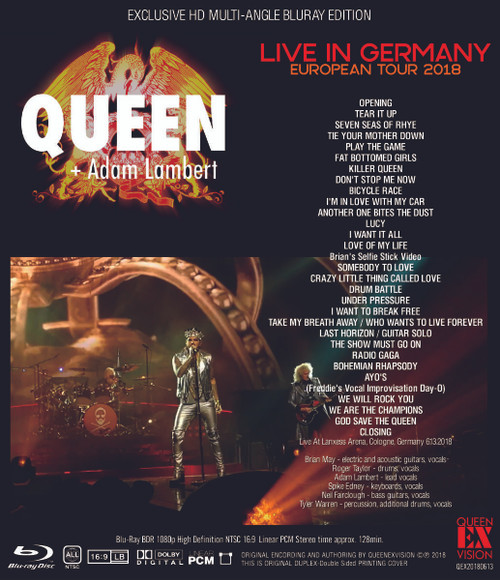 queen european tour germany 2018 blu ray