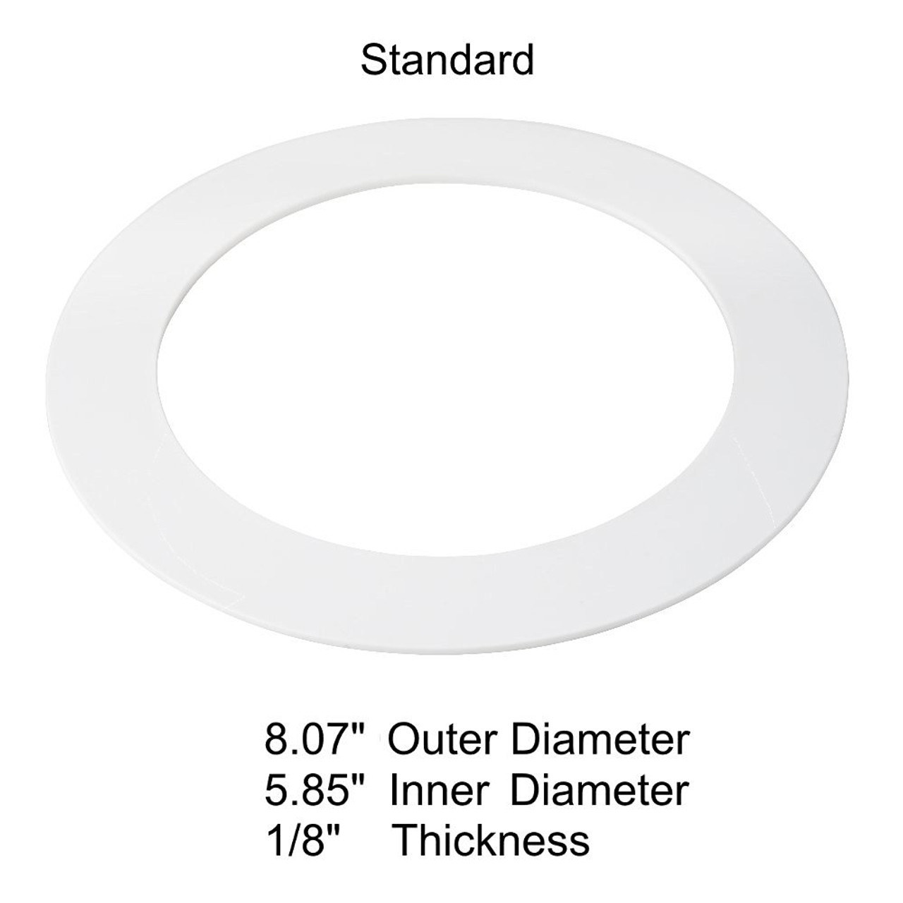 goof trim ring for 6 inch can 5 pack