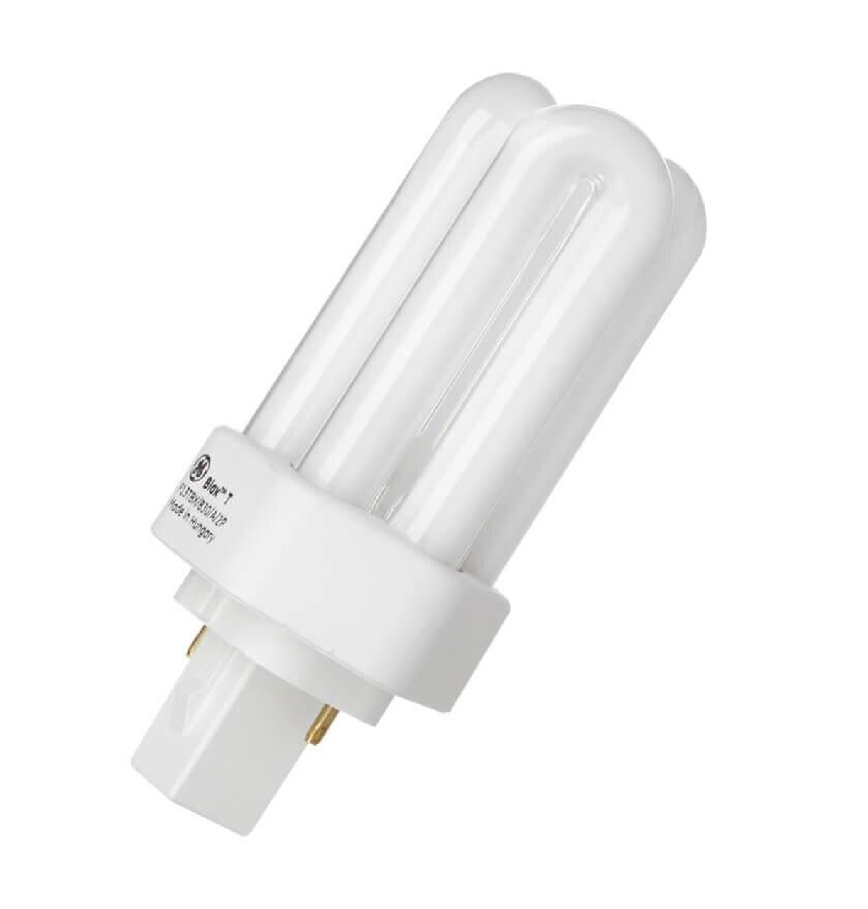 ge lighting cfl longlast plt 13w 2 pin biax t warm white frosted