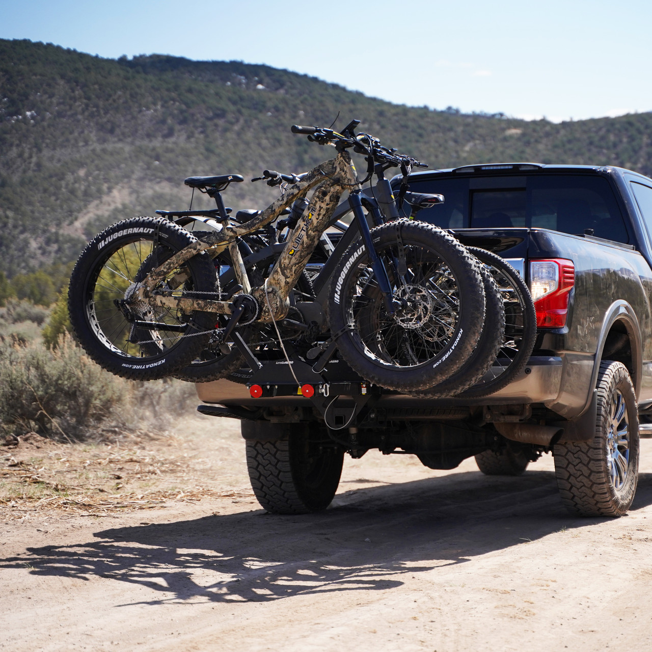v lectric pro two fat tire ebike carrier