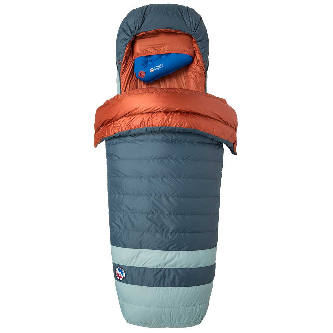 big agnes diamond park 0 down sleeping bag