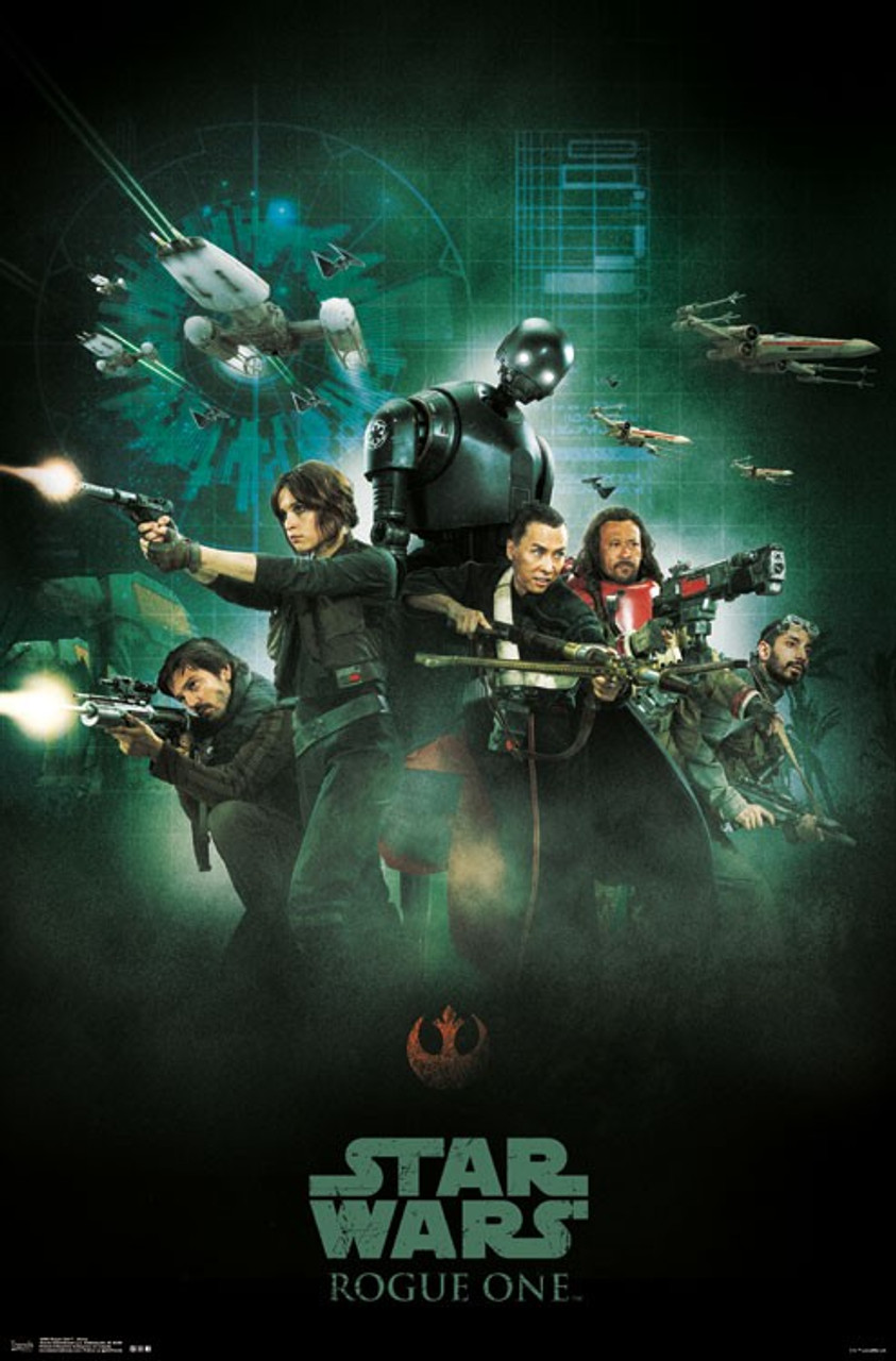 star wars rogue one poster group