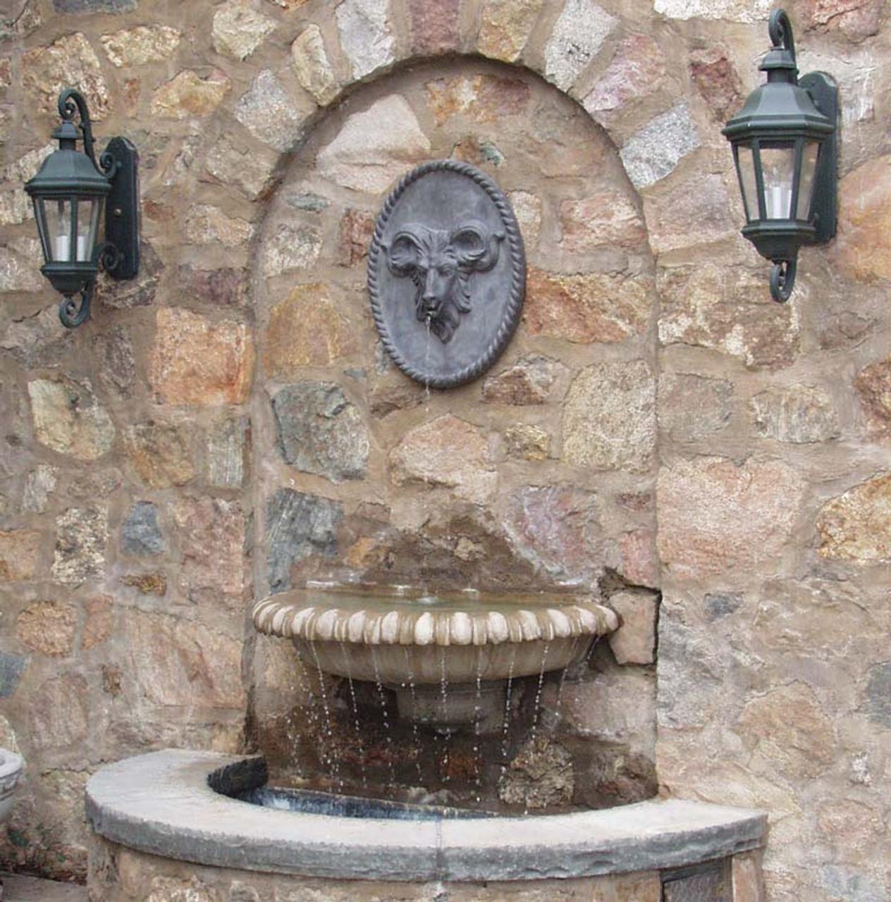 cast stone wall shells