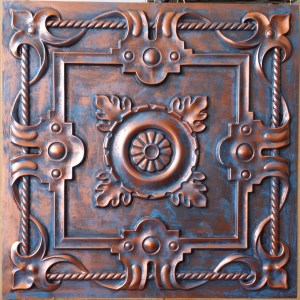 Faux Tin Ceiling Tile 24 In X 24 In Dct 29