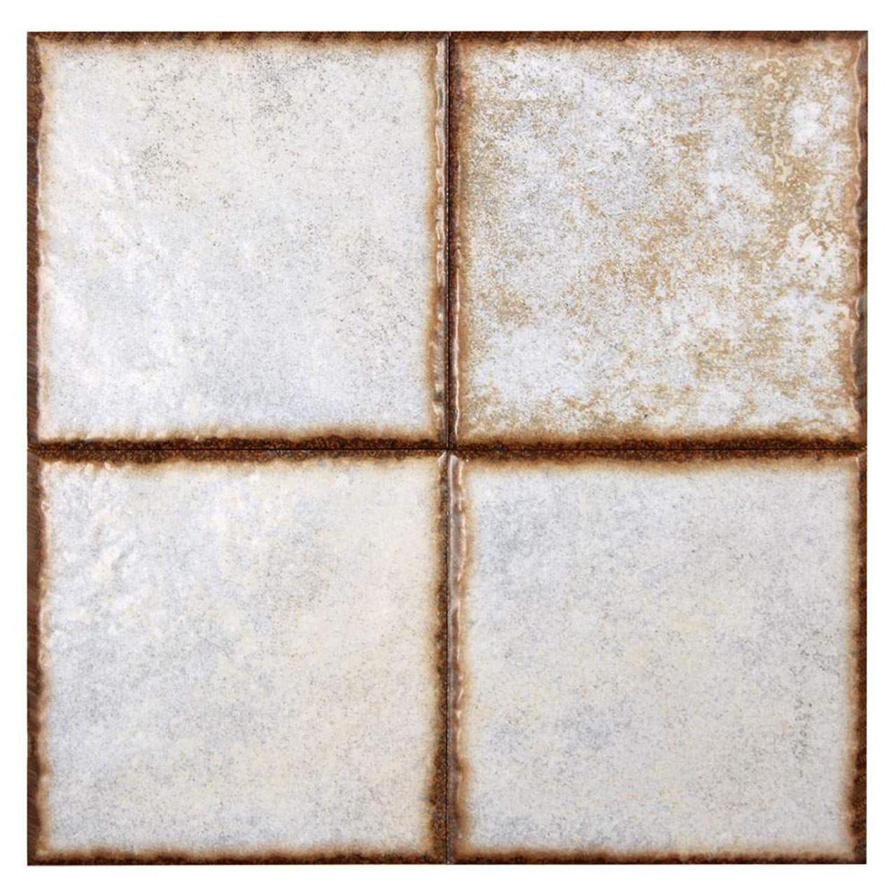 benisa white 6x6 porcelain pool grade tile box of 9 8 sq ft