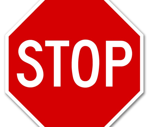 R1 1 Stop Sign