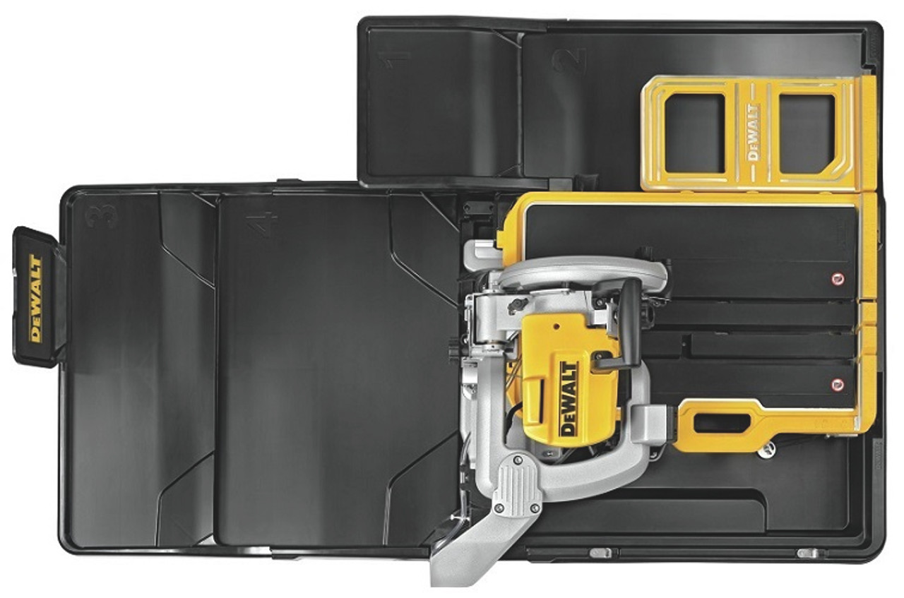 dewalt dew d36000s 10 in high capacity wet tile saw with stand