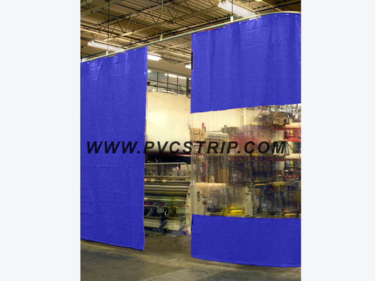 ready to ship industrial curtains room dividers