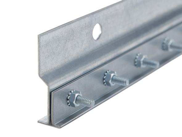 pvc strip door mounting hardware