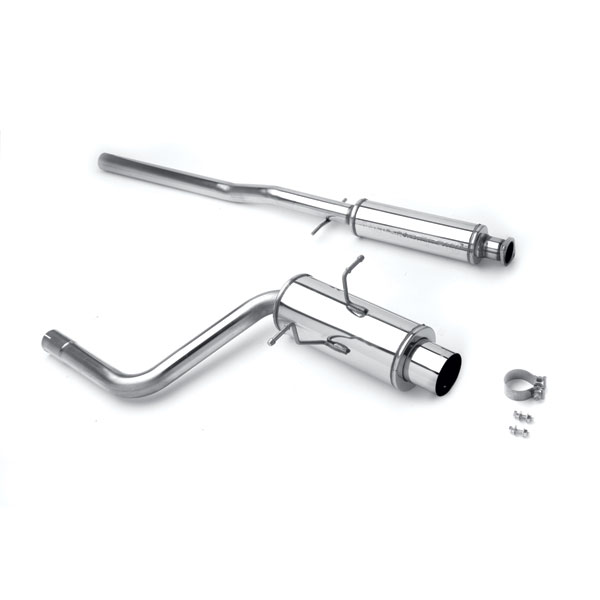 magnaflow 15741 mini cooper 1 6l non turbo stainless performance exhaust system