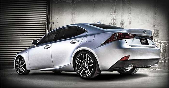 magnaflow 15227 lexus is350 250 is200t stainless axle back performance exhaust system