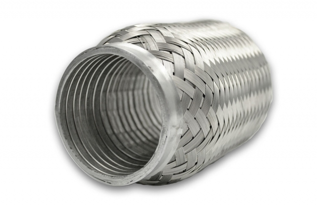 2 25 inch inlet outlet 6 inch long stainless steel flex pipe