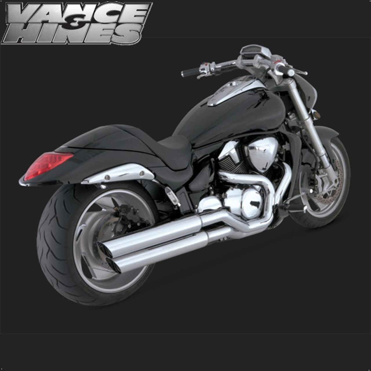 vance hines big shot full exhaust system suzuki m109r 06 11