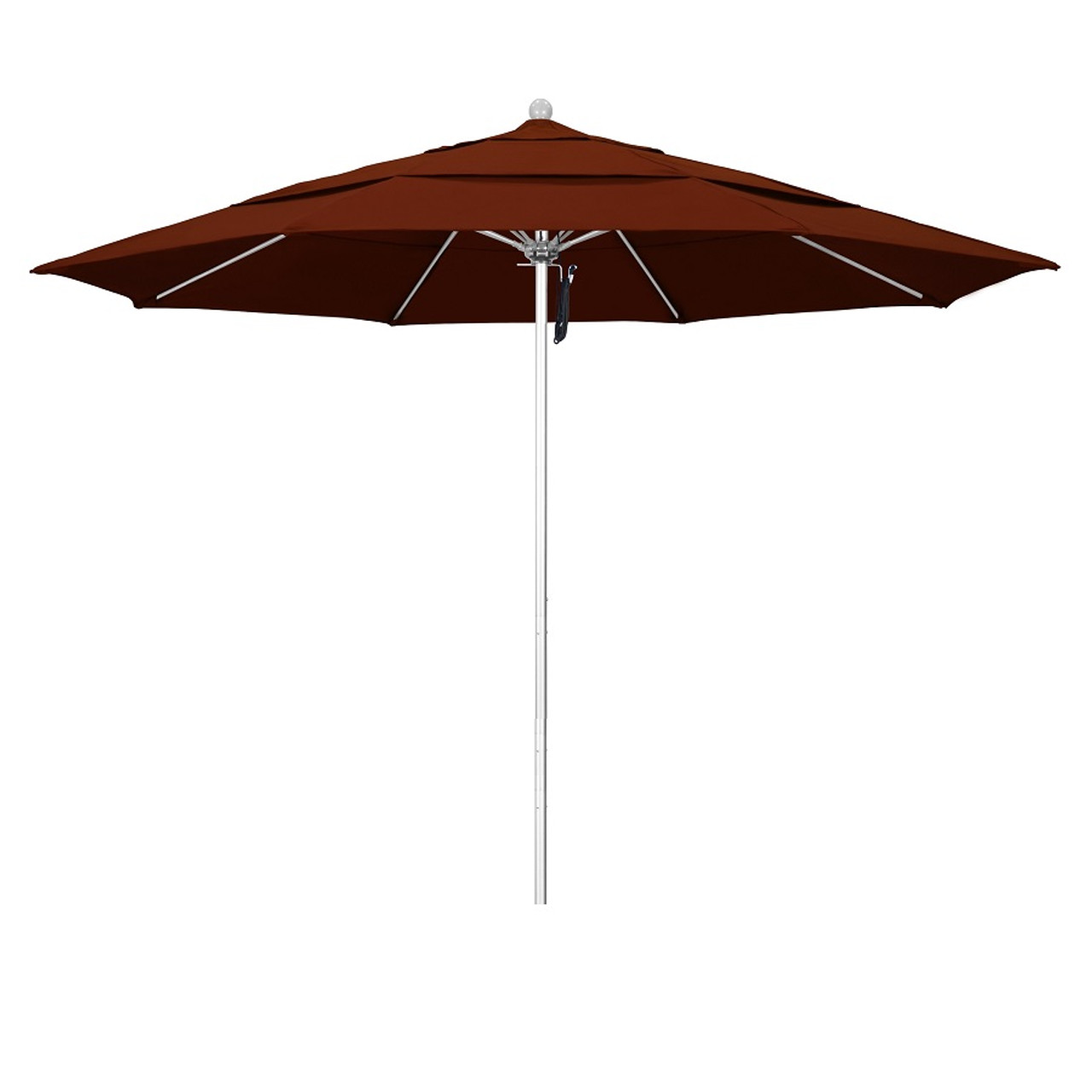 phat tommy 11 ft silver commercial patio market umbrella