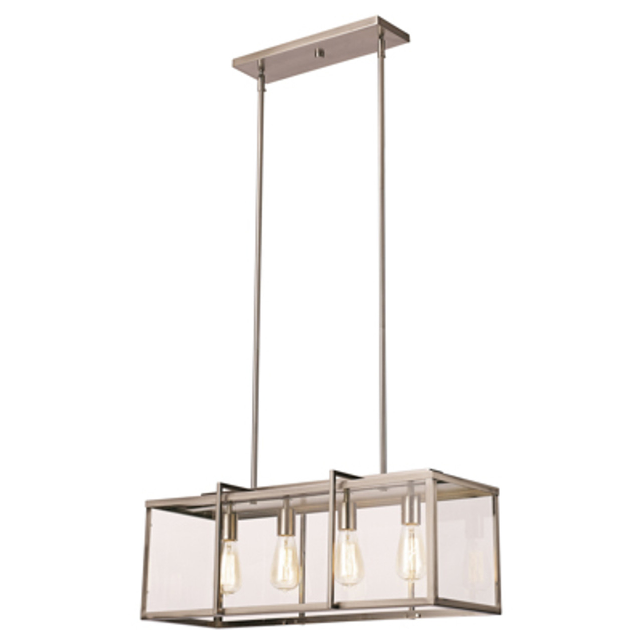 Trans Globe Lighting 10213 Bn 12 Indoor Brushed Nickel Industrial Pendant At Clw Lighting
